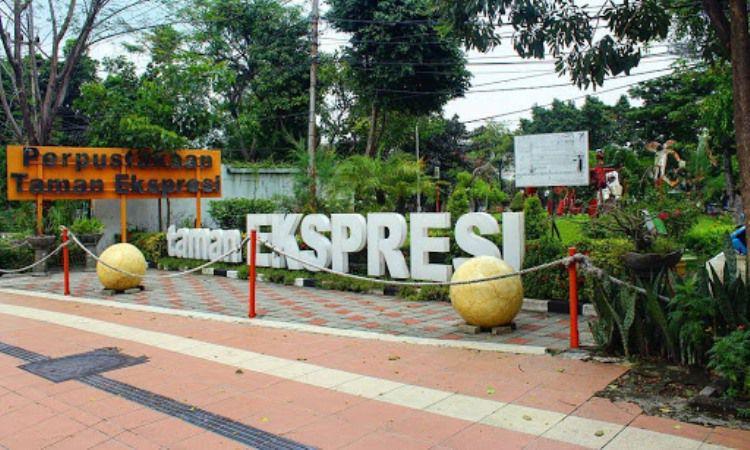 Taman Ekspresi Dan Perpustakaan
