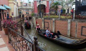 Wahana-Wahana Little Venice Menarik Perhatian