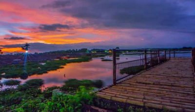 Waduk Cengklik, Tempat Menikmati Panorama Sunset di Boyolali