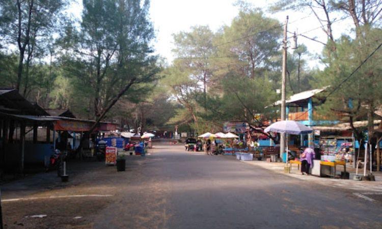 Fasilitas Pantai Goa Cemara