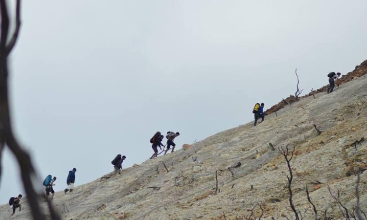 Kegiatan di Gunung Papandayan