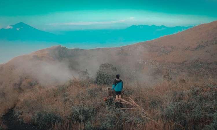 Kegiatan di Gunung Guntur